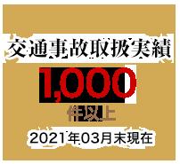 交通事故取扱実績20,000件以上